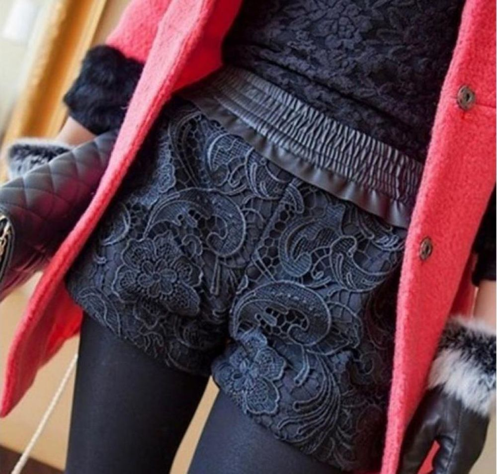 17 способов носить шорты в холодное время года, фото № 12