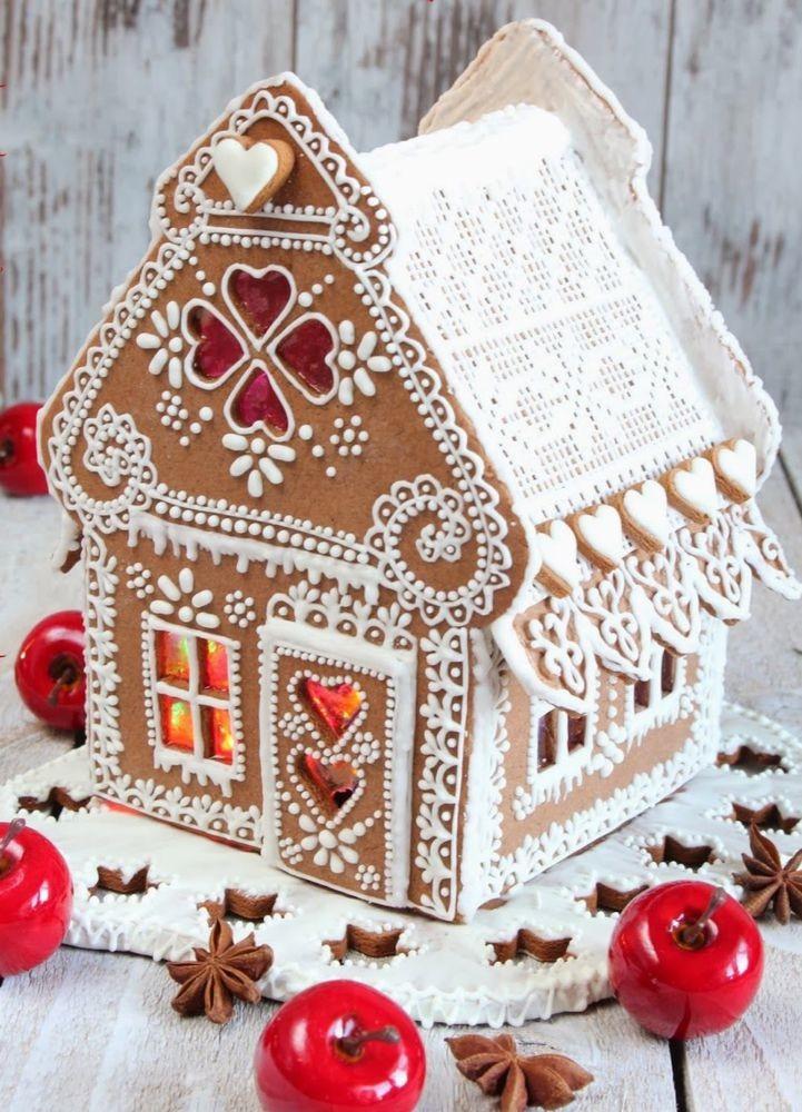 Имбирный домик рецепт с фото