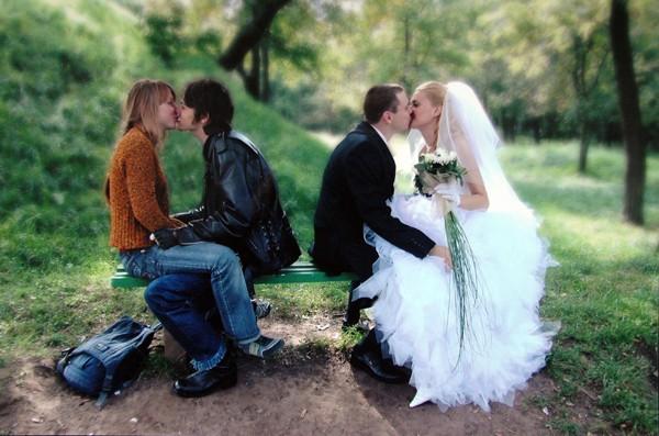 Я против гражданского брака...