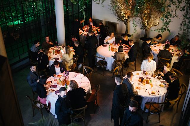 Ужин Courvoisier в доме Наркомфина Светская жизнь