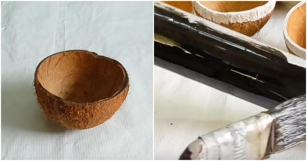 Необычная и красивая идея для дома из… кокосов и труб ПВХ