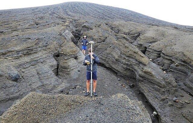 Рождение нового острова в Тихом океане извержение вулкана, рождение нового острова, тихий океан
