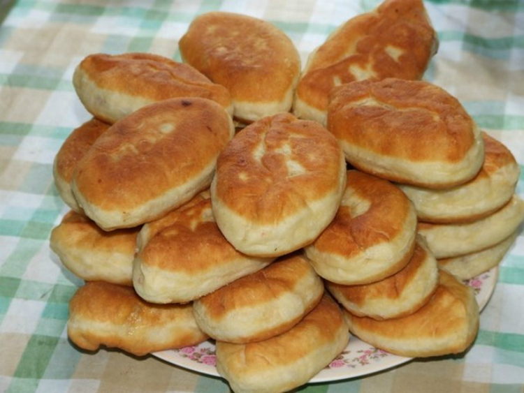 рецепт дрожжевого теста для пирожков