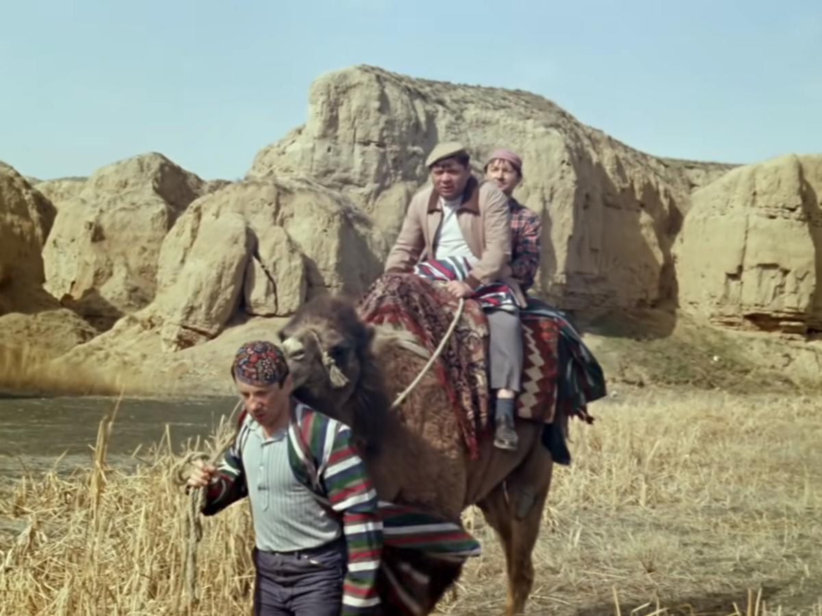 Верблюд троих не увезет (кадр из фильма)