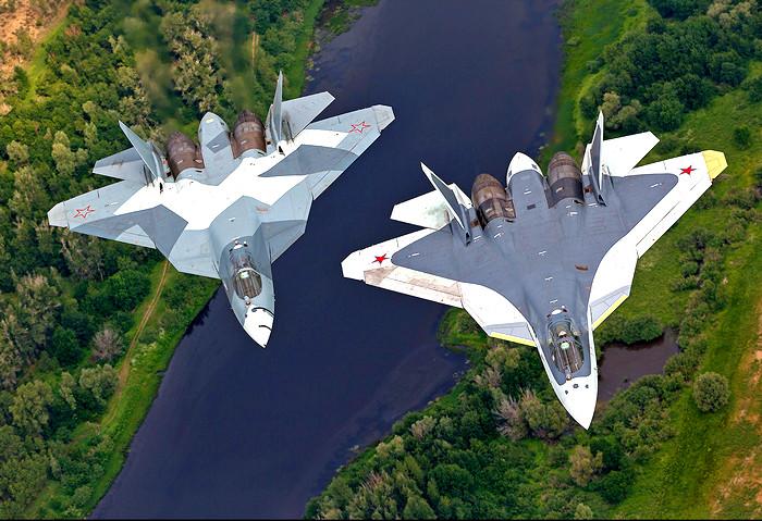 Запад отреагировал на появление новейших Су-57 в Сирии