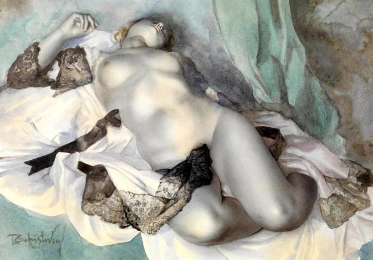 Художник Лев Чистовский (1902 — 1969)