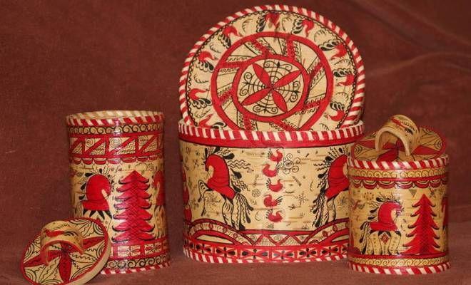 Мезенская роспись – что это такое, история возникновения, на каком материале выполняется, основные цвета и элементы народные промыслы,орнамент,роспись
