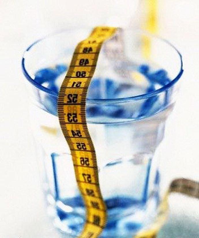 Похудение роль воды