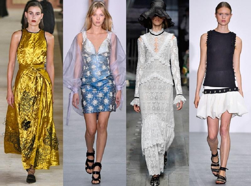 Модные летние тенденции — 2017