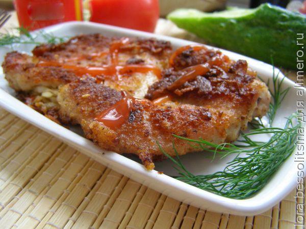 Лучшее блюдо на 23 февраля - жареные окорочка