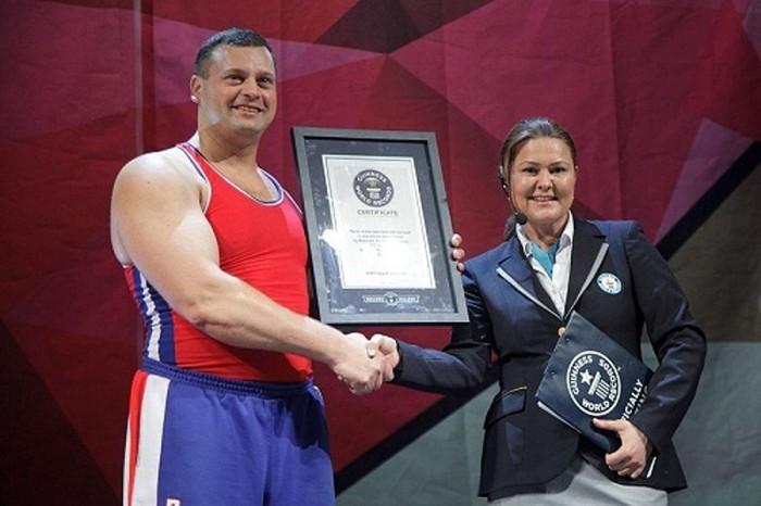 Достижения россиян из Книги рекордов Гиннеса