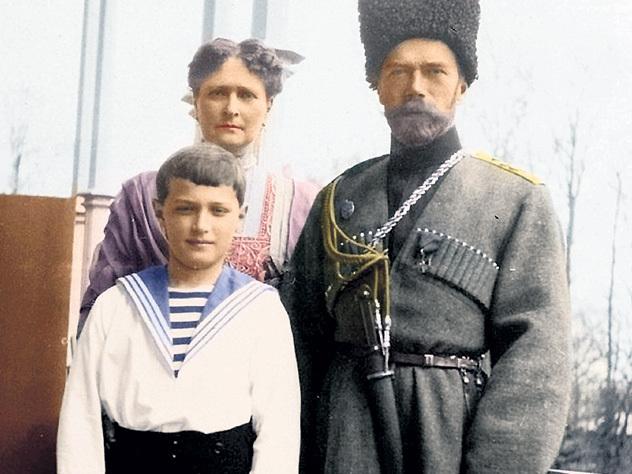 Ленин спас царскую семью от расстрела