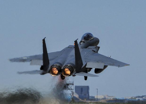 Американцы испытают боевой лазер на истребителе