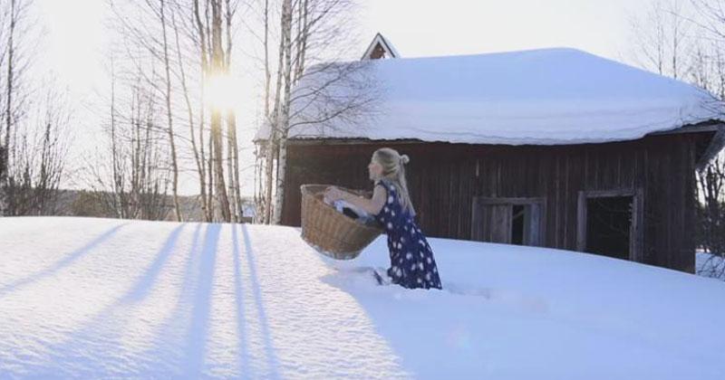 Вот какой видят весну в Швеции. С юмором об актуальном!