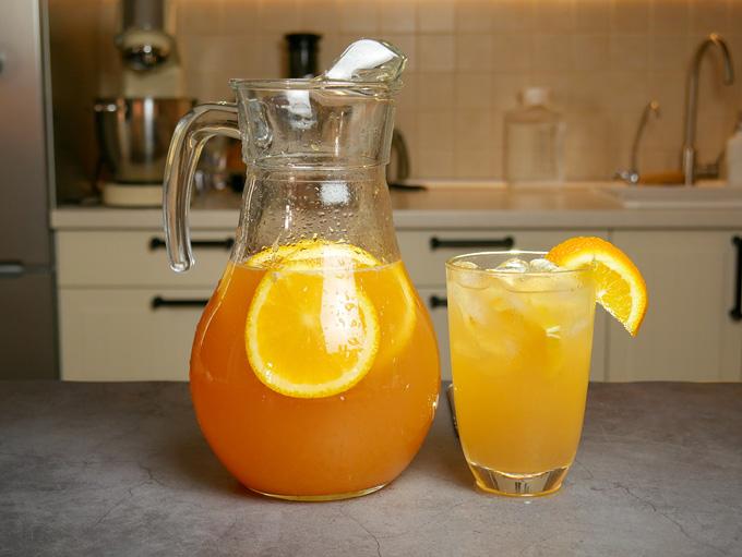Натуральные лимонады для жаркого лета