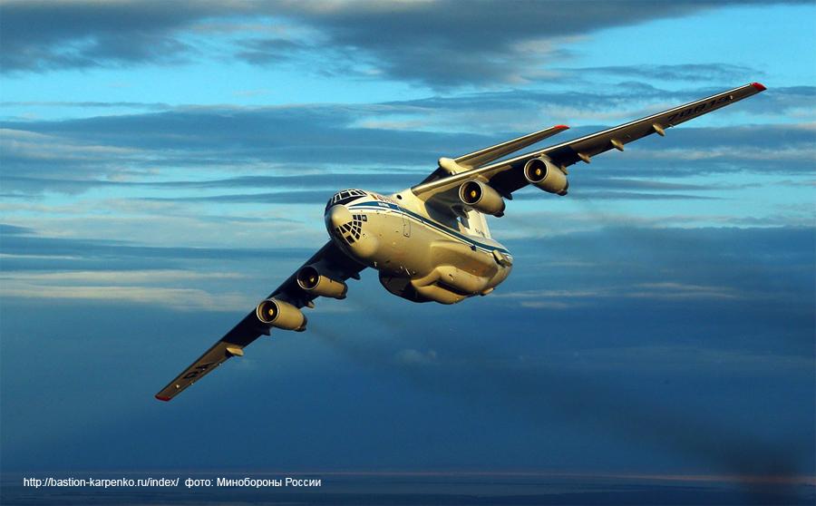 Ил-76 станет «летающим  космодром»  для  спутников