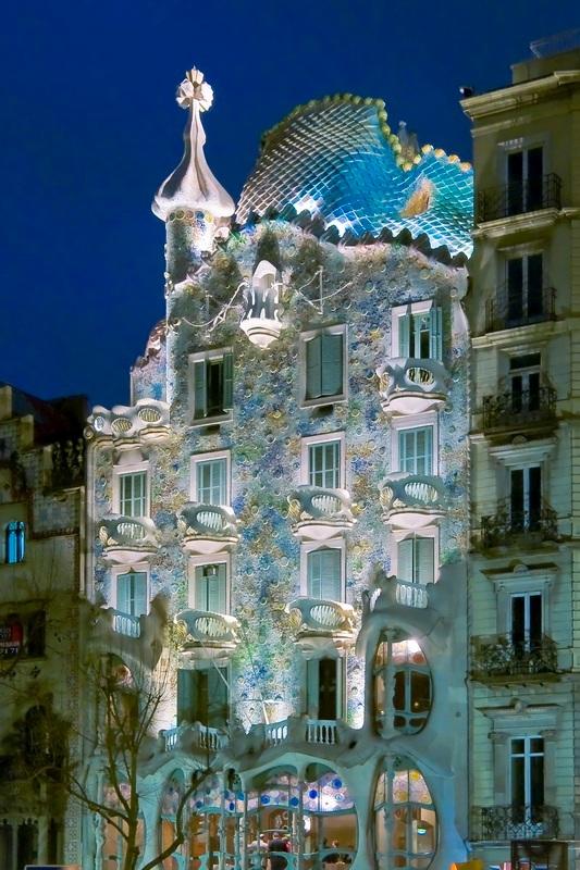 Дом Бальо в Испании