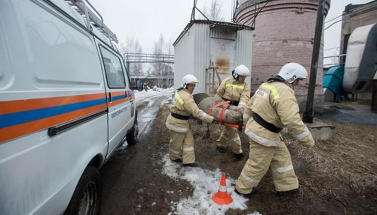 Спасатели провели пожарно‑та…