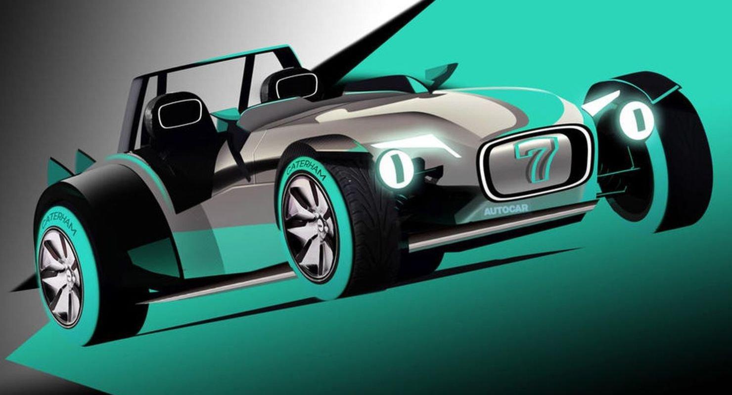 Культовый родстер Caterham 7 впервые в истории станет электрическим Автомобили