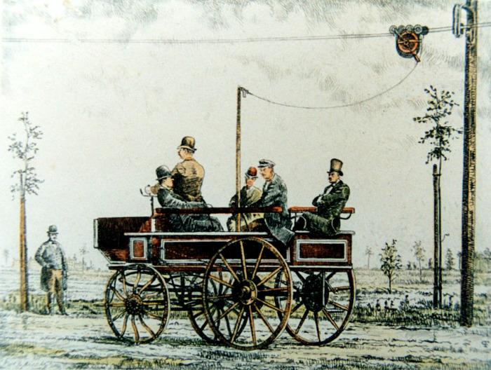 Какими были первые троллейбусы Ленинграда