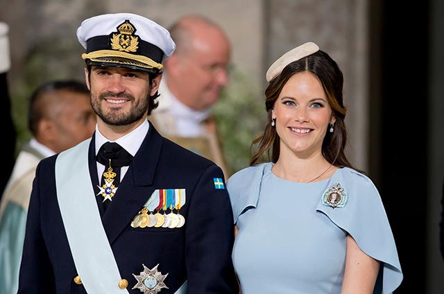 Принц Швеции Карл Филипп и принцесса София заразились коронавирусом
