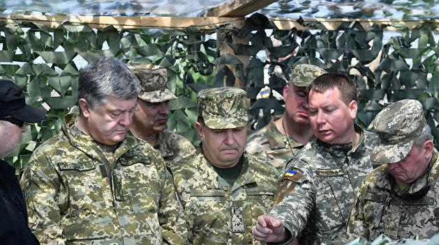 Киев готовит наступление на …