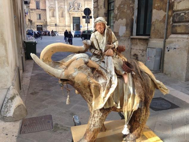 Скульптуры папье-маше из  Италии домашний очаг
