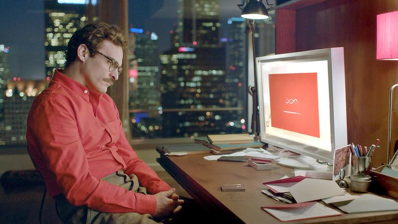 Она (2013) кино, компьютеры, технологии, фильмы