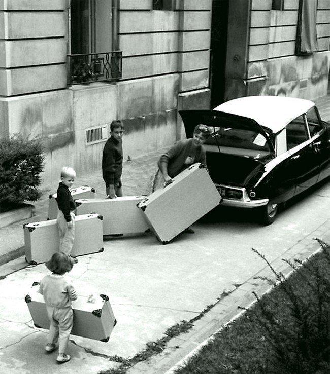 Выезд в отпуск в 1959 году Весь Мир в объективе, ретро, старые фото