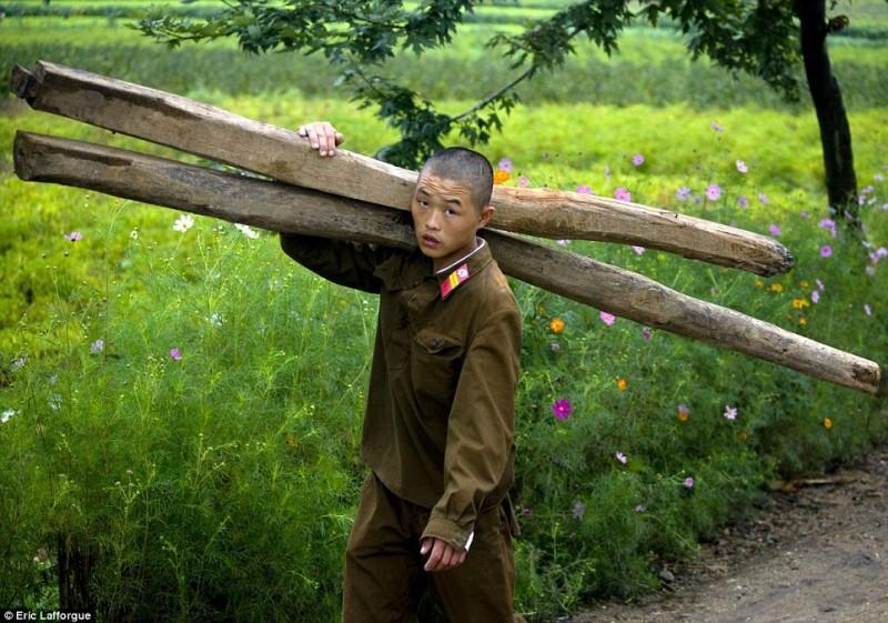 Запрещенные фотографии — Северная Корея, снятая скрытой камерой