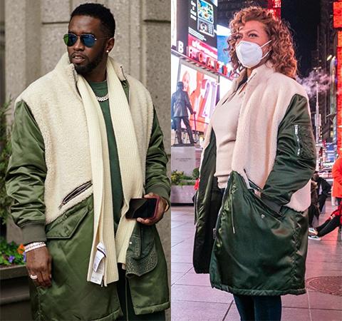 Модная битва: Шон Комбс против Куин Латифы