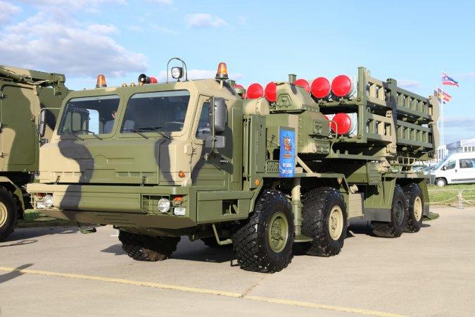 Зенитная ракетная система С-350