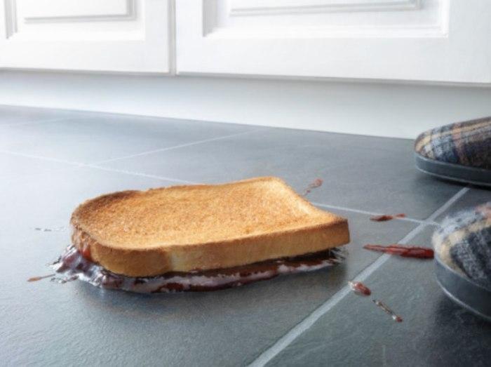 Почему бутерброд падает маслом вниз и еще 7 вопросов, которые все стеснялись задать