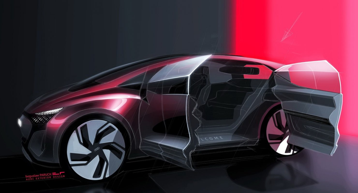 Audi AI:ME – заднеприводный хетчбэк с живыми цветами в салоне Автомобили