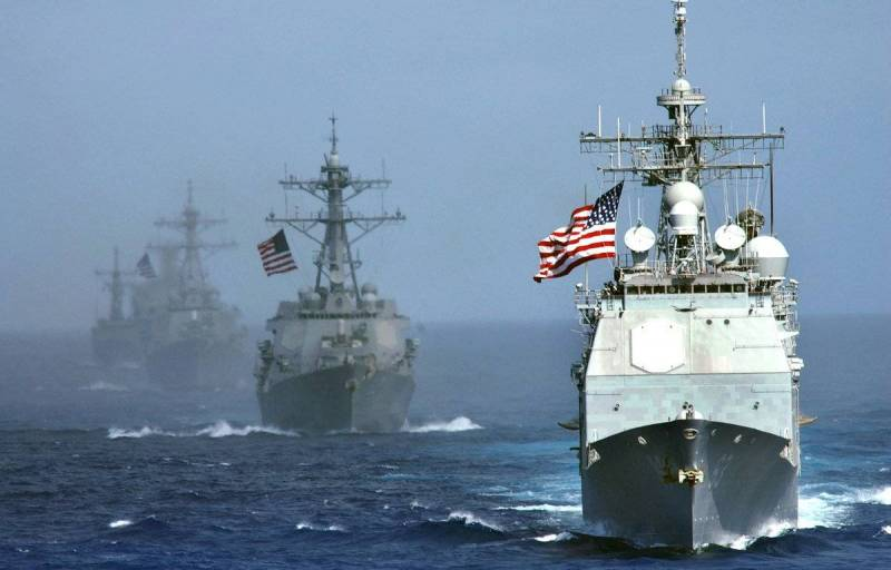 США замахнулись на Чёрное море. Разрабатывается стратегия сдерживания России геополитика