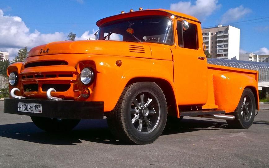 фото тюнинг грузовых отечественных машин памятники являются