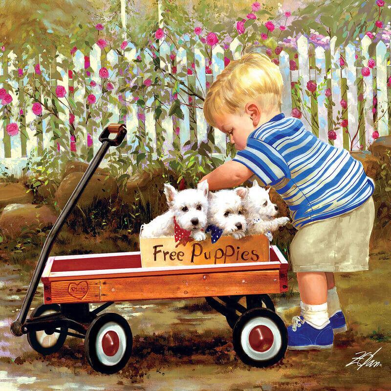 открытки дональда золана маленький, состоящий одного