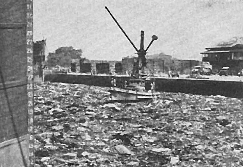 Взрыв в порту Бомбея — «дождь» из огня и золота история