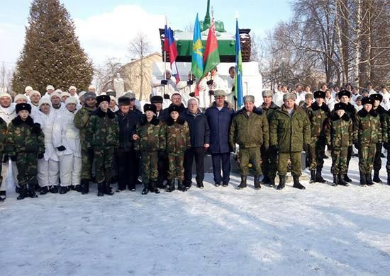 Десантники из РФ и Беларуси …