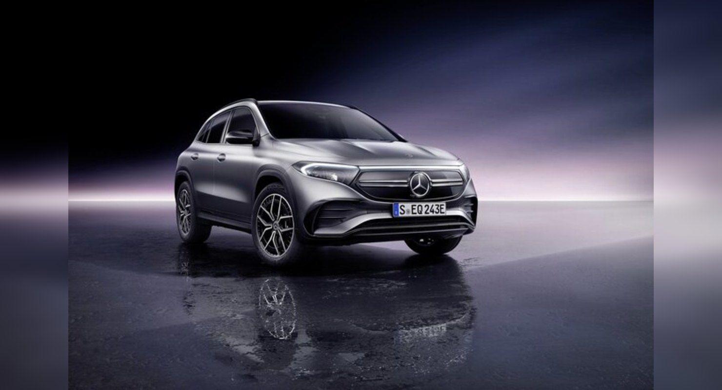 Новый электрокар Mercedes на базе кроссовера GLA Автомобили