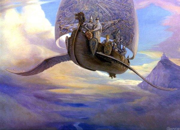 Как летали в Древней Руси