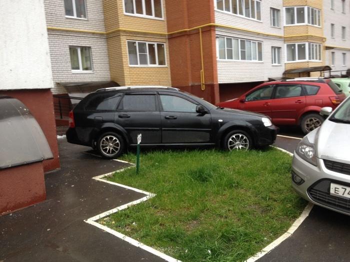 Места во дворе дома, где нельзя парковать машину автомобиль
