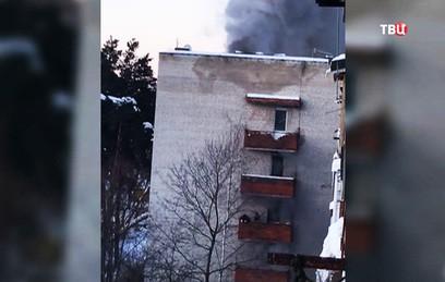 В результате пожара в Раменском погибли два человека