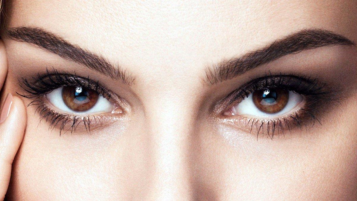 Картинки больших карих глаз