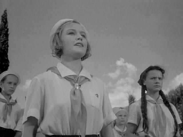 Пионервожатые из советского кино. кино