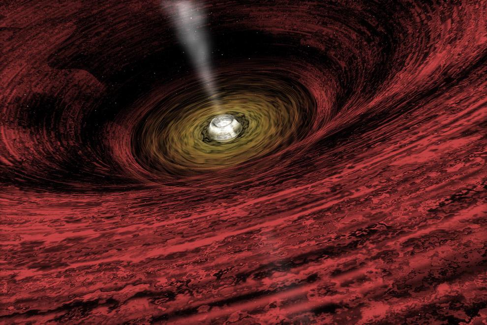 Гигантские чёрные дыры