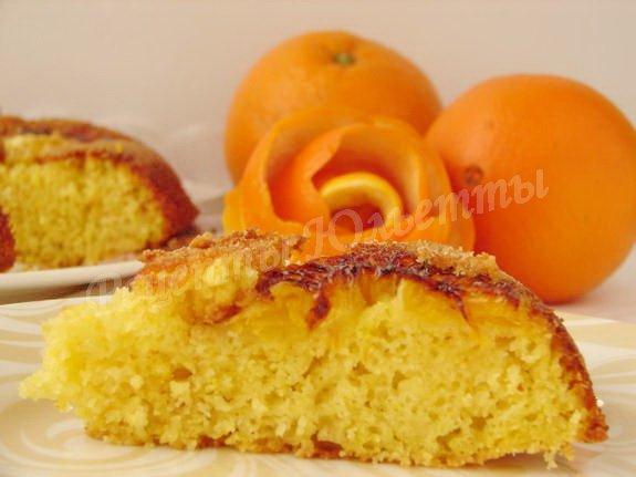 манник на апельсиновом соке