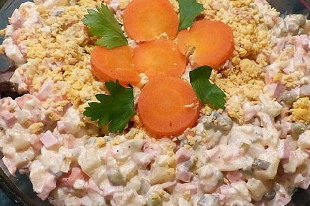 Росстат: салат «Оливье» в этом году подорожал на 5%