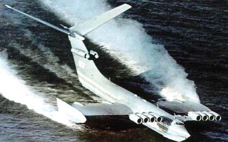 Каспийский монстр: инженерный гений СССР