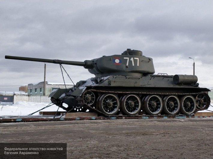 Из «лаосских» Т-34: в России сформирован новый батальон из 30 танков